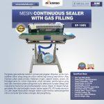 Jual Mesin Continuous Sealer With Gas (Band Sealer) di Surabaya