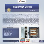 Jual Mesin Oven Roti dan Kue Model Listrik di Surabaya