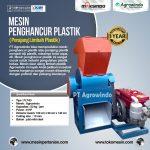 Jual Mesin Penghancur Plastik (Perajang Limbah Plastik) di Surabaya
