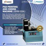 Jual Mesin Pad Printing Kode Kedaluwarsa (Coding Machine) di Surabaya