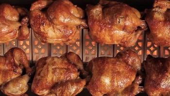 Pemanggang Ayam Gas Rotisseries HORIZONTAL