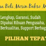 Jual Paket Mesin Pembuat Bakso Maksindo Terbaru di Surabaya