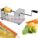 Mesin Kentang Spiral (Twist Potato) dan Pengiris Buah dan Sayur Bentuk Spiral (Spiral Slicer)