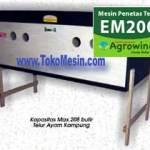 Jual Mesin Penetas Telur Manual 200 Telur (EM-200) di Surabaya