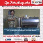 Jual Mesin Vacuum Frying Kapasitas 10 Kg di Surabaya