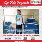 Jual Mesin Mixer Pakan Ternak (model horizontal mixer / Ribbon Mixer) di Surabaya
