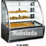 Jual Mesin Pastry Warmer (Hot Showcase) Penyaji Roti di Surabaya