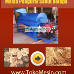 Jual Mesin Pengurai Sabut Kelapa di Surabaya