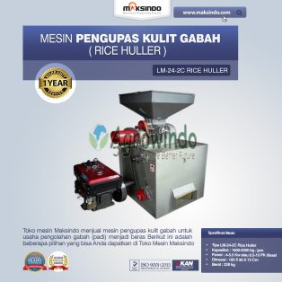 Jual Mesin Pengupas Kulit Gabah (rice huller) di Surabaya