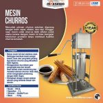 Jual Mesin Pencetak Churros (Spanyol) di Surabaya