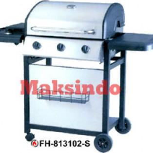 Jual Mesin Barbeku Gas Barbeque With Side Burner di Surabaya