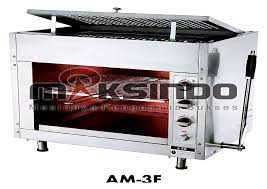 mesin infrared gas salamander alatmesin