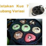 Jual Cetakan Kue 7 Lubang Variasi di Surabaya
