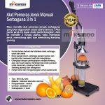 Jual Alat Pemeras Jeruk Manual Serbaguna  3 in 1 di Surabaya