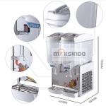Jual Mesin Juice Dispenser 2 Tabung (17 Liter) – DSP17x2 di Surabaya