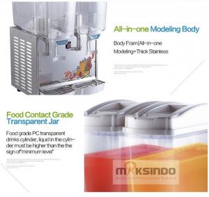 Mesin Juice Dispenser 2 Tabung (17 Liter) - DSP17x2 3 alatmesin
