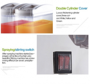 Mesin Juice Dispenser 2 Tabung (17 Liter) - DSP17x2 4 alatmesin