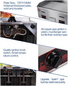 Mesin Pemanggang Griddle (Gas) - GG720 10 alatmesin