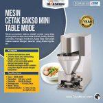 Jual Mesin Cetak Bakso Mini (Table Model) – MCB-200B di Surabaya