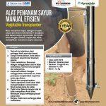 Jual Alat Penanam Sayur (Vegetable Transplanter) Stainless di Surabaya
