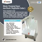 Jual Mesin Vegetable Cutter – MKS-VC45 di Surabaya
