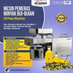 Jual Mesin Pemeras Minyak Biji-Bijian di Surabaya