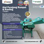 Jual Mesin Chopper Perajang Rumput Gajah & Sejenisnya AGR-CH200B di Surabaya