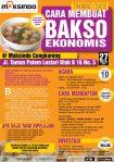 Training Usaha Bakso di Cengkareng, 27 Agustus 2016