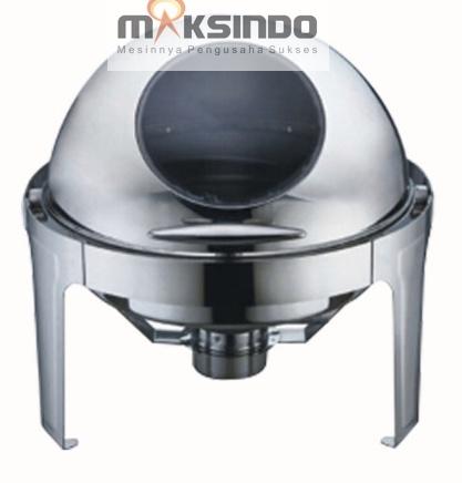 Chafing Dish Bentuk Bulat (Round Roll) 6 Liter