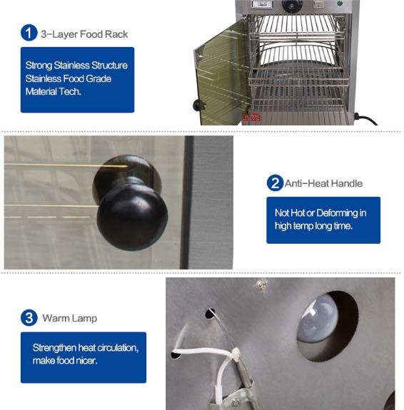 Mesin Warmer Kue Harga Hemat - MKS-P01 3