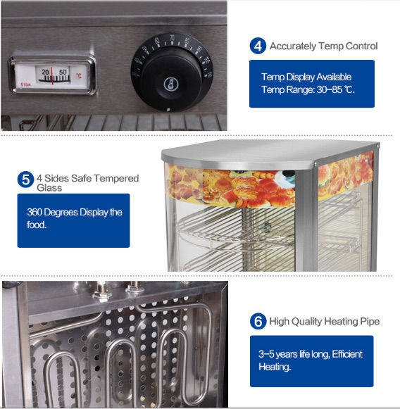 Mesin Warmer Kue Harga Hemat - MKS-P01 4