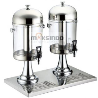 Jual Juice Dispenser / Buffet Dispenser 2 Tabung di Surabaya