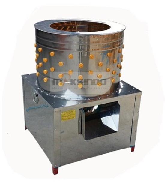 Mesin Pencabut Bulu Ayam dan Unggas MKS-PLC45