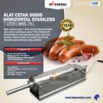 Jual Alat Cetak Sosis Horizontal Stainless 3 – 7 liter (MKS-3H) di Surabaya