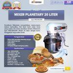 Jual Mesin Mixer Planetary 20 Liter NEW High Quality (MKS-BK20M) di Surabaya