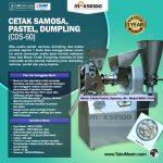 Jual Mesin Cetak Samosa, Pastel, Dumpling (CDS-60) di Surabaya
