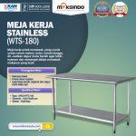 Jual Meja Kerja Stainless (WTS-180) di Surabaya