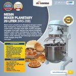 Jual Mesin Mixer Planetary 20 Liter (MKS-20B) di Surabaya