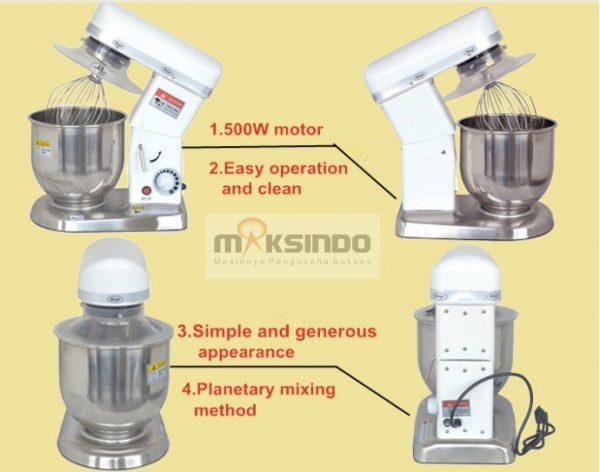 Mesin Mixer Planetary 5 Liter (MPL-5) 3