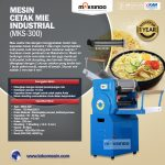 Jual Mesin Cetak Mie Industrial (MKS-300) di Surabaya