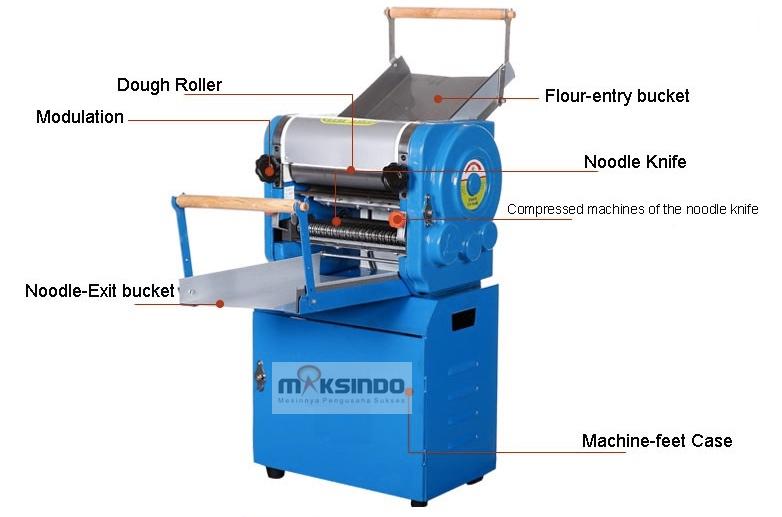 Mesin Cetak Mie Industrial (MKS-300) 7