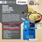 Jual Mesin Cetak Mie Industrial (MKS-350) di Surabaya