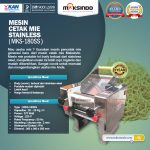 Jual Mesin Cetak Mie Stainless (MKS-180SS) di Surabaya