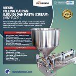 Jual Mesin Filling Cairan dan Pasta – MSP-FL300 di Surabaya