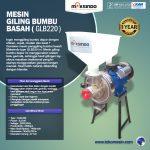 Jual Mesin Giling Bumbu Basah GLB220 di Surabaya