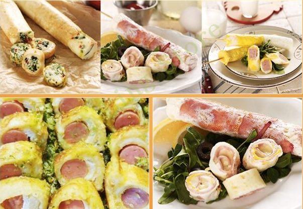Mesin Pembuat Egg Roll (Listrik) 2