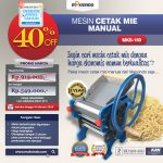 Jual Cetak Mie Manual Untuk Usaha (MKS-150) di Surabaya