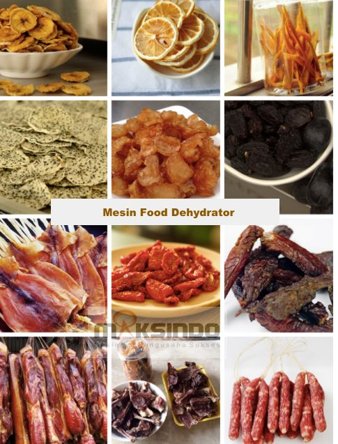 Mesin Food Dehydrator 6 Rak (FDH6) 1
