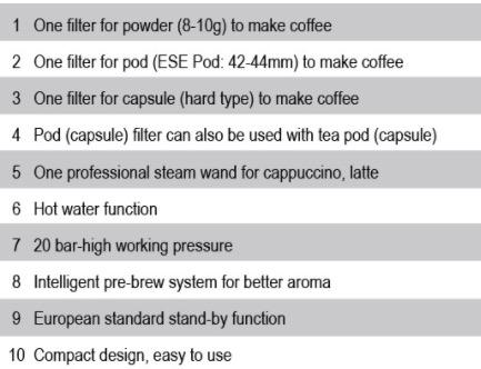 Mesin Kopi Espresso Semi Auto - MKP50 3
