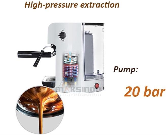 Mesin Kopi Espresso Semi Auto - MKP50 6
